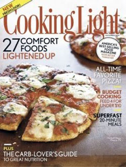 cooking light september 2009 cover