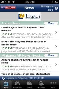 Fox 6 app news