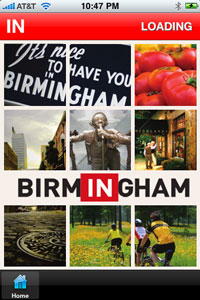 Birmingham Alabama Attractions iPhone app