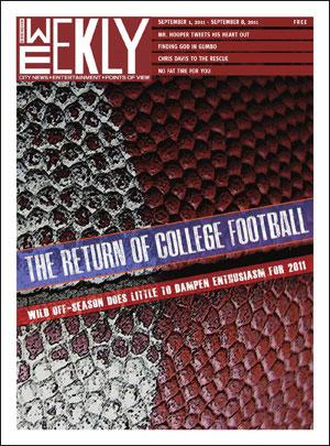Birmingham Weekly 09-01-11 cover