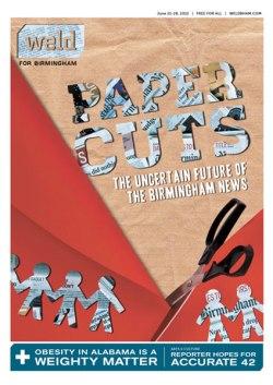 Weld for Birmingham cover, Paper Cuts